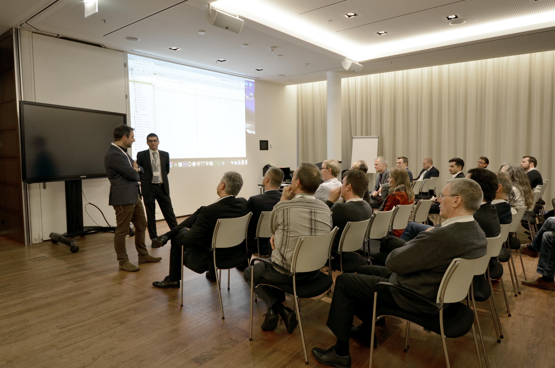 Roman Hirsbrunner CEO von Jung von Matt/Limmat auf der Vertec Anwendertagung 2016