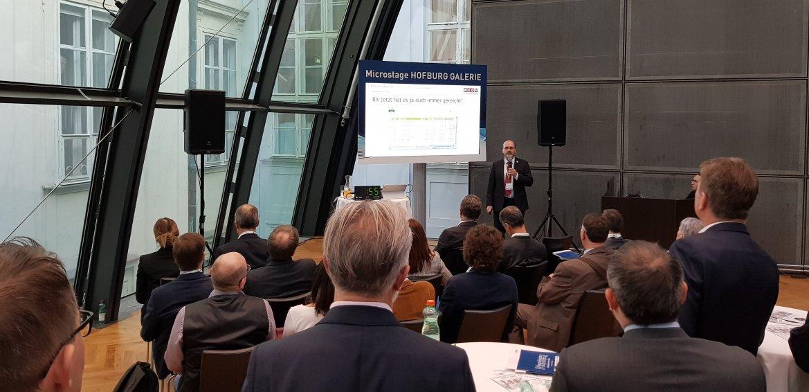 Georg Alscher auf dem IT- und Beratertag in Wien