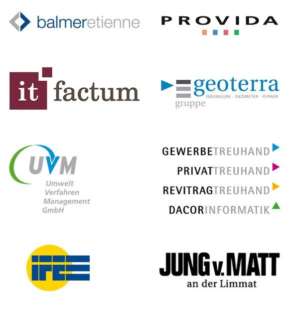 Auswahl von Neukunden bei der Vertec Group im Jahr 2016