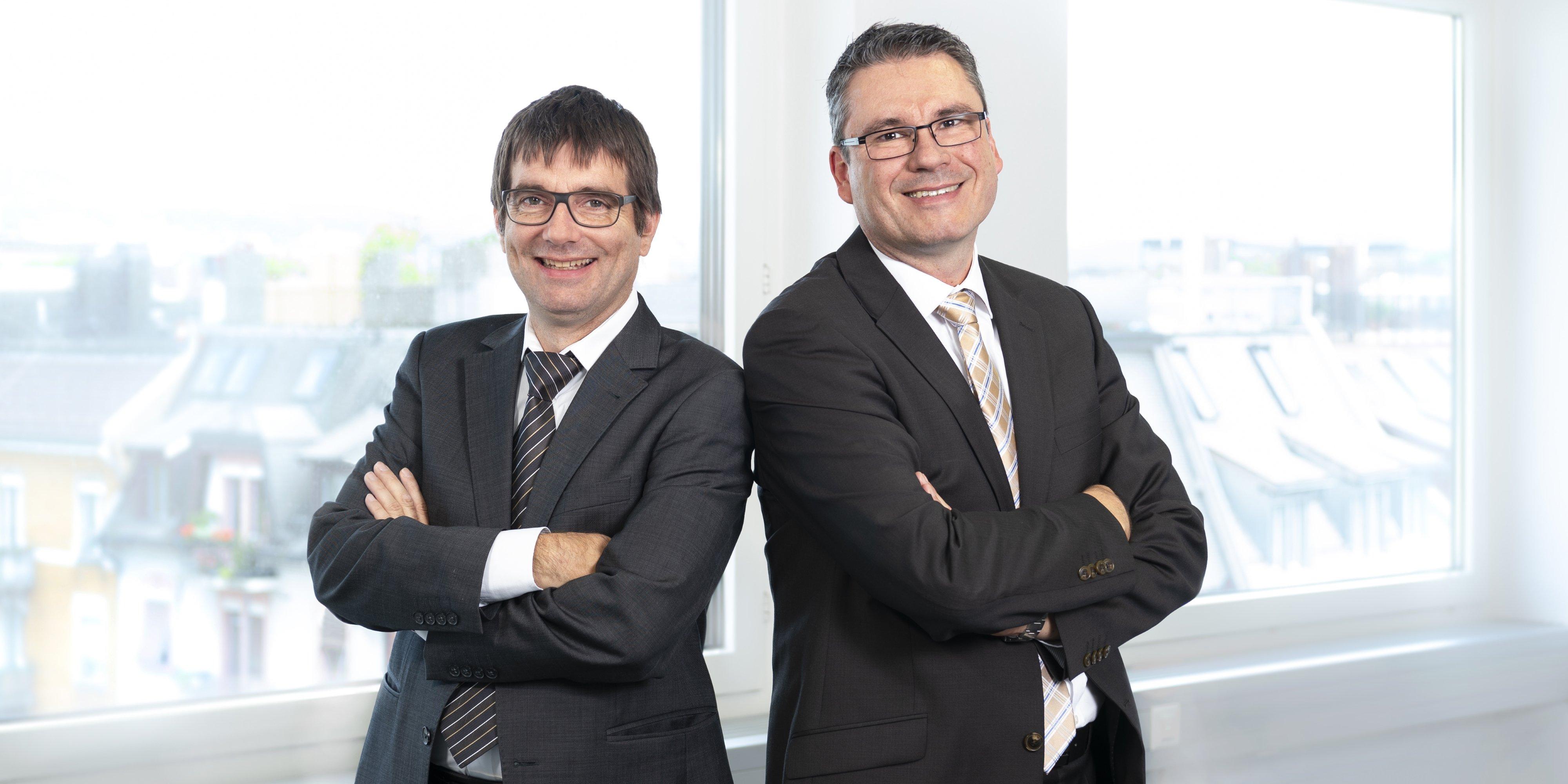 Claudio Pietra und Volker Schwarzer