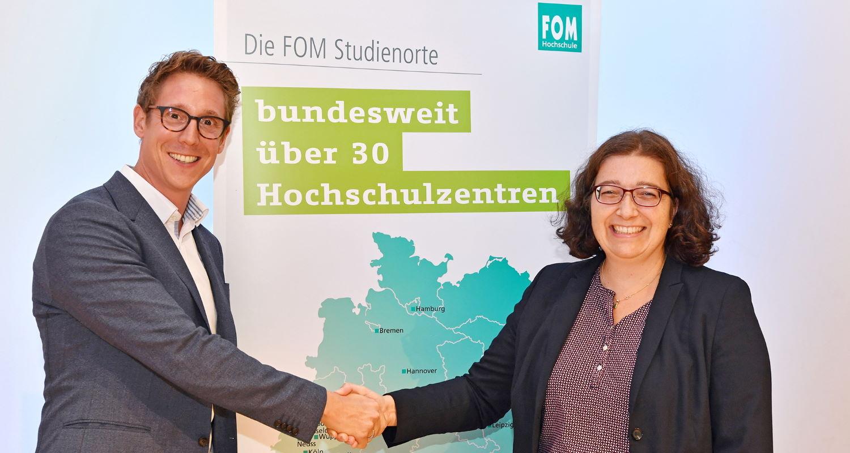 Dr. Sabine Quirrenbach und Tobias Wielki