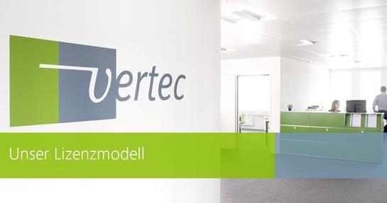 Lizenzmodell von Vertec