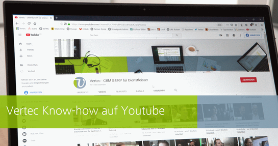 der Vertec YouTube-Channel