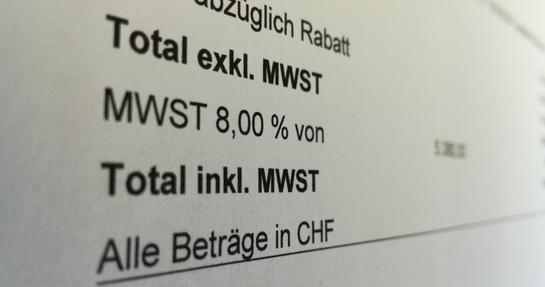 MWST Änderung Schweiz 2018