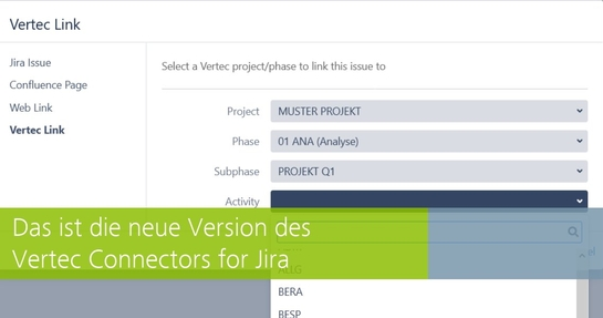Neue Version des Vertec Connectors for Jira